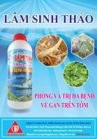 Thuốc thủy sản, thuoc thuy san, LÂM SINH THẢO - Phòng đa bệnh về gan cho tôm